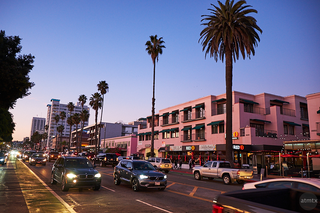 Ocean Avenue - Santa Monica, California
