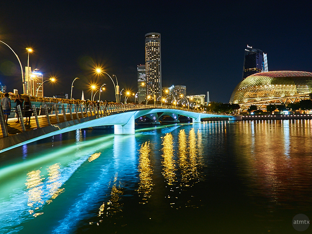 Esplanade and Bridge - Singapore