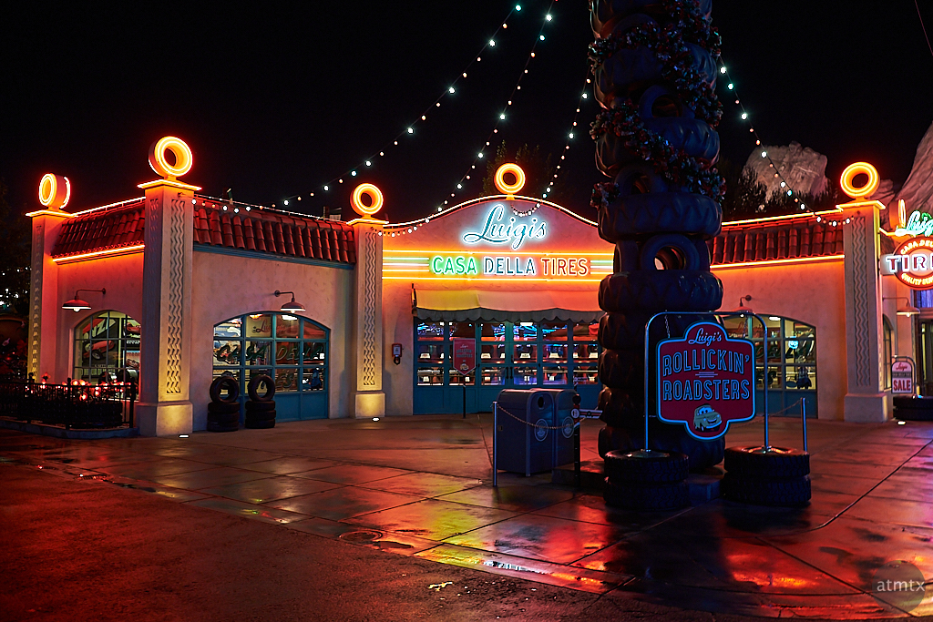 Luigi's Casa Della Tires, Disney California Adventure - Anaheim, California