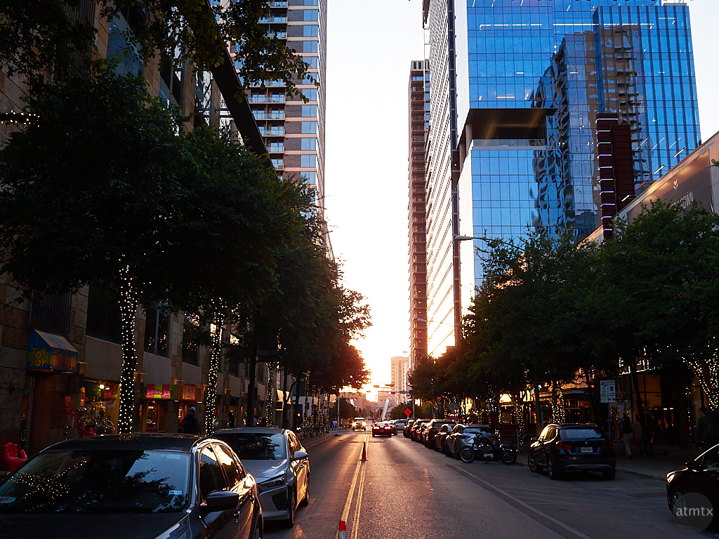 T2nd Street Sunset - Austin, Texas