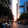 2nd Street Sunset - Austin, Texas