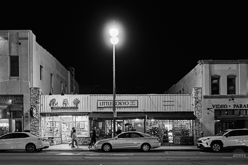 Streetscape, Little Tokyo - Los Angeles, California