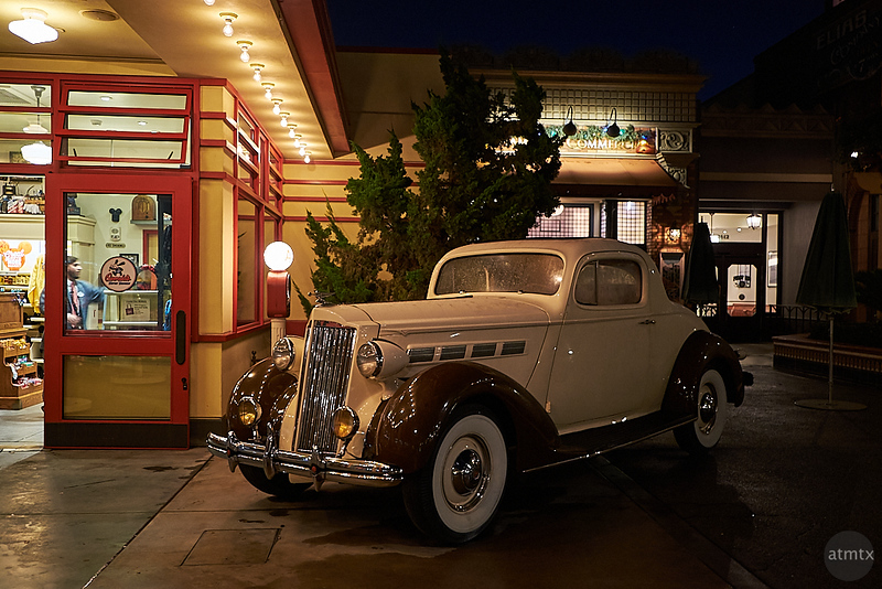 Packard Coupe at Oswalds, Disney California Adventure - Anaheim, California
