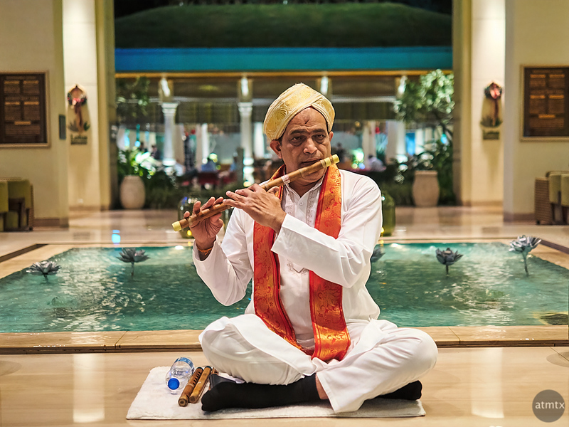 The Flautist, ITC Gardenia - Bangalore, India