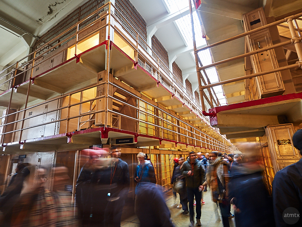 Motion Blur at Alcatraz - San Francisco, California