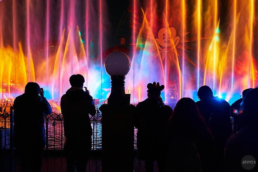 World of Color Silhouette, Disney California Adventure - Anaheim, California