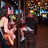 Singer, 6th Street Bar - Austin, Texas