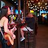 Singer, 6th Street Bar - Austin, Texas