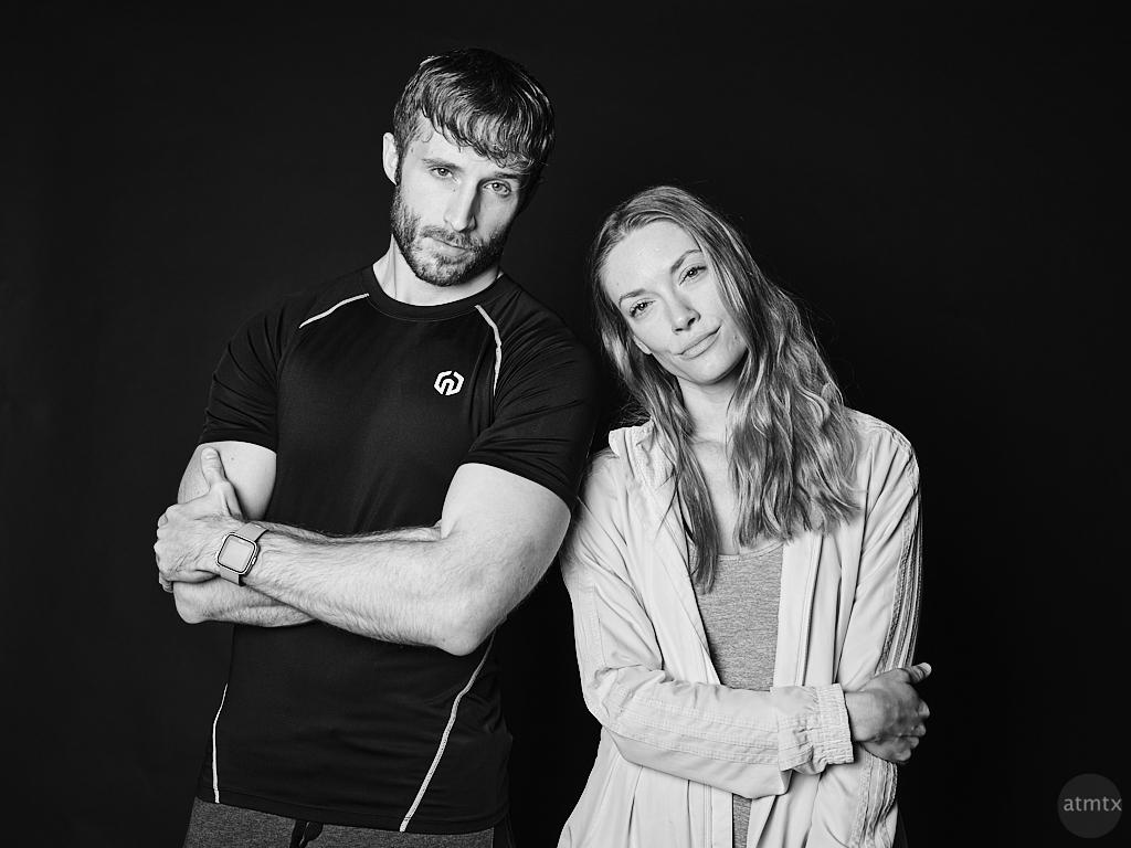 Dillon and Jennifer, Precision Camera Portrait - Austin, Texas
