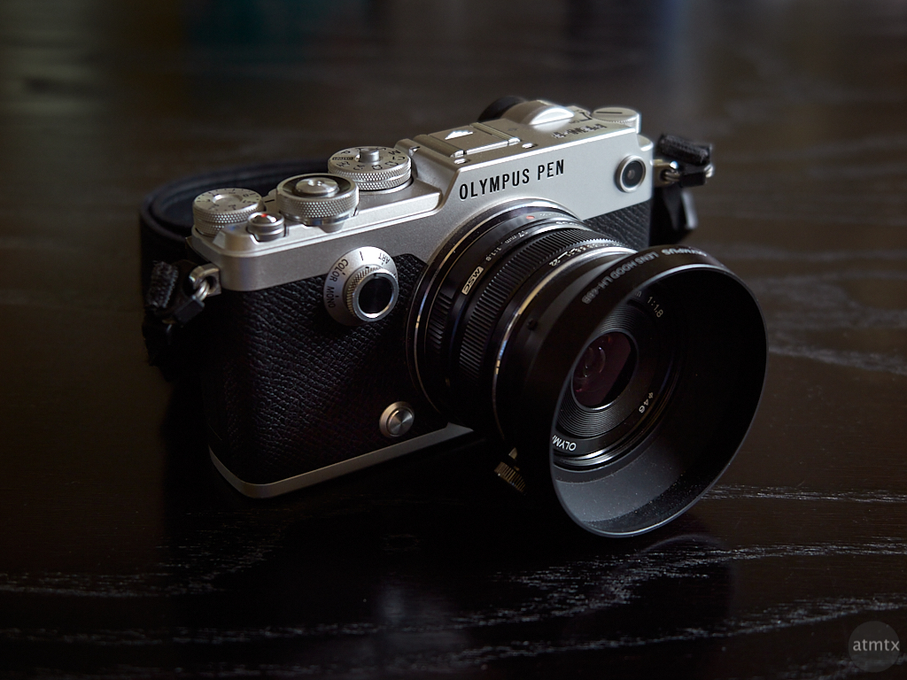 Olympus PEN-F with 17mm f1.8