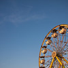 Ferris Wheel at Golden Hour, Parking Lot Carnival - Round Rock, Texas