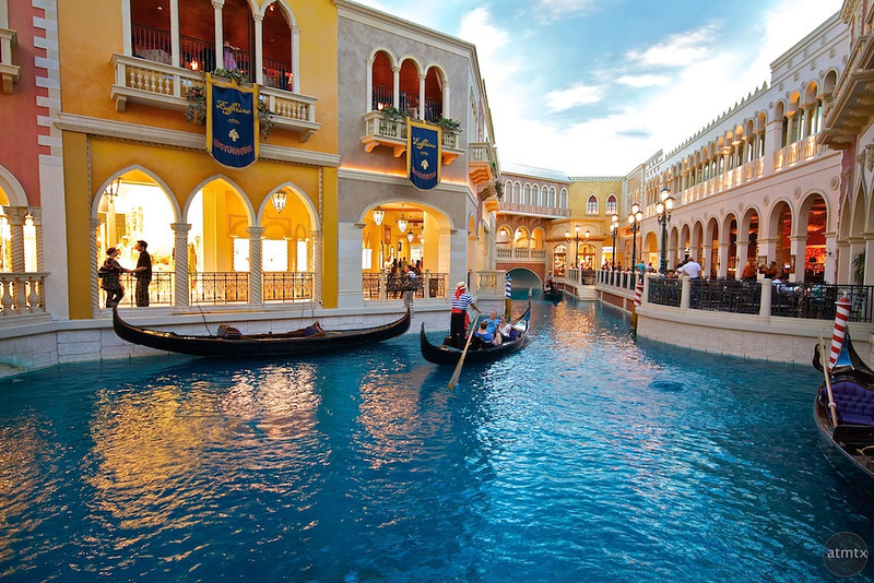 Faux Canal, The Venetian - Las Vegas, Nevada
