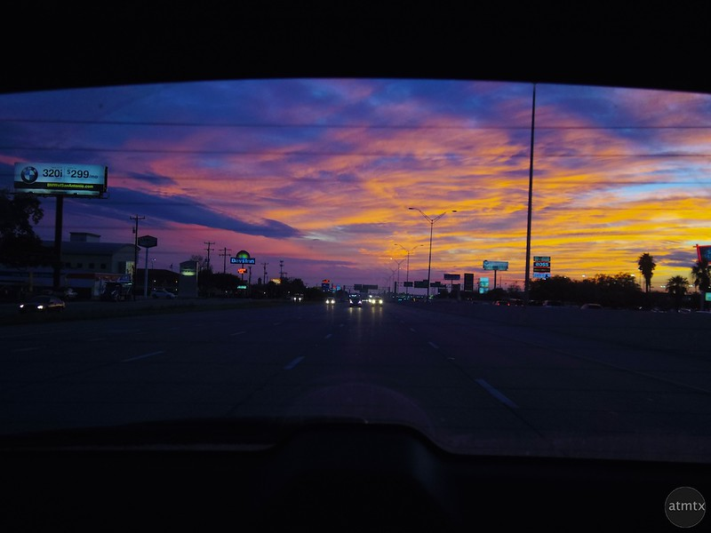 Highway Sunset #2 - San Antonio, Texas