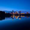 Skyline from the Boardwalk (wide) - Austin, Texas