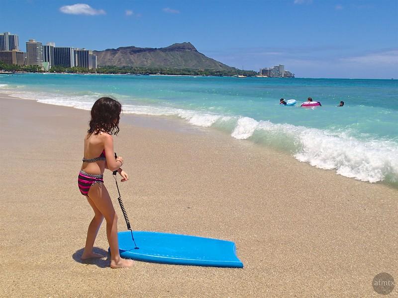 My First Boogie Board - Honolulu, Hawaii