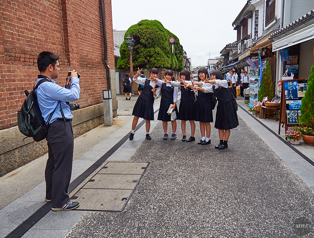 School Trip Portrait - Kurashiki, Japan
