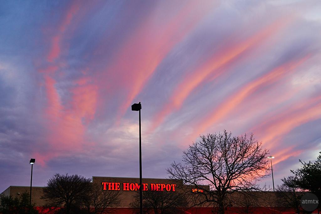 Home Depot Sunset - Austin, Texas