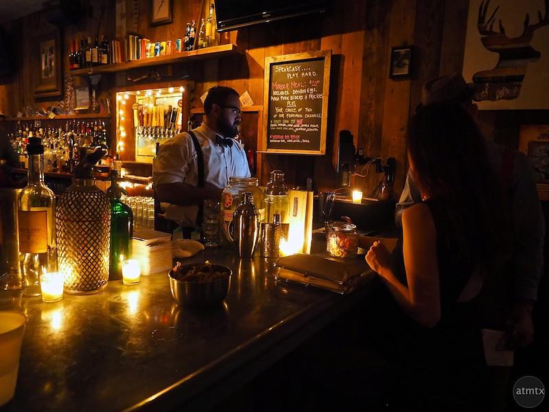 Moody and Intimate, Javalina Bar - Austin, Texas