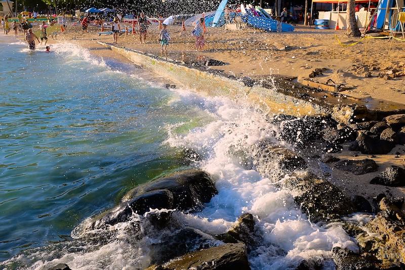 Warm Waves, Waikiki Beach - Honolulu, Hawaii