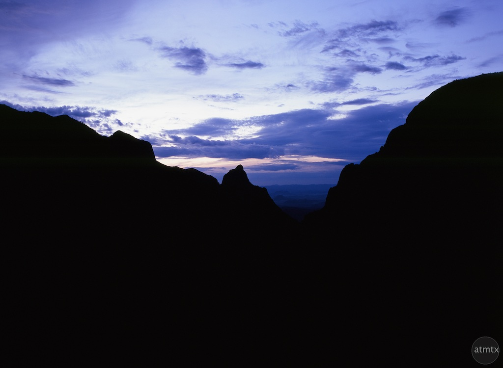 Window at Sunset, Chisos Basin - Big Bend National Park, Texas