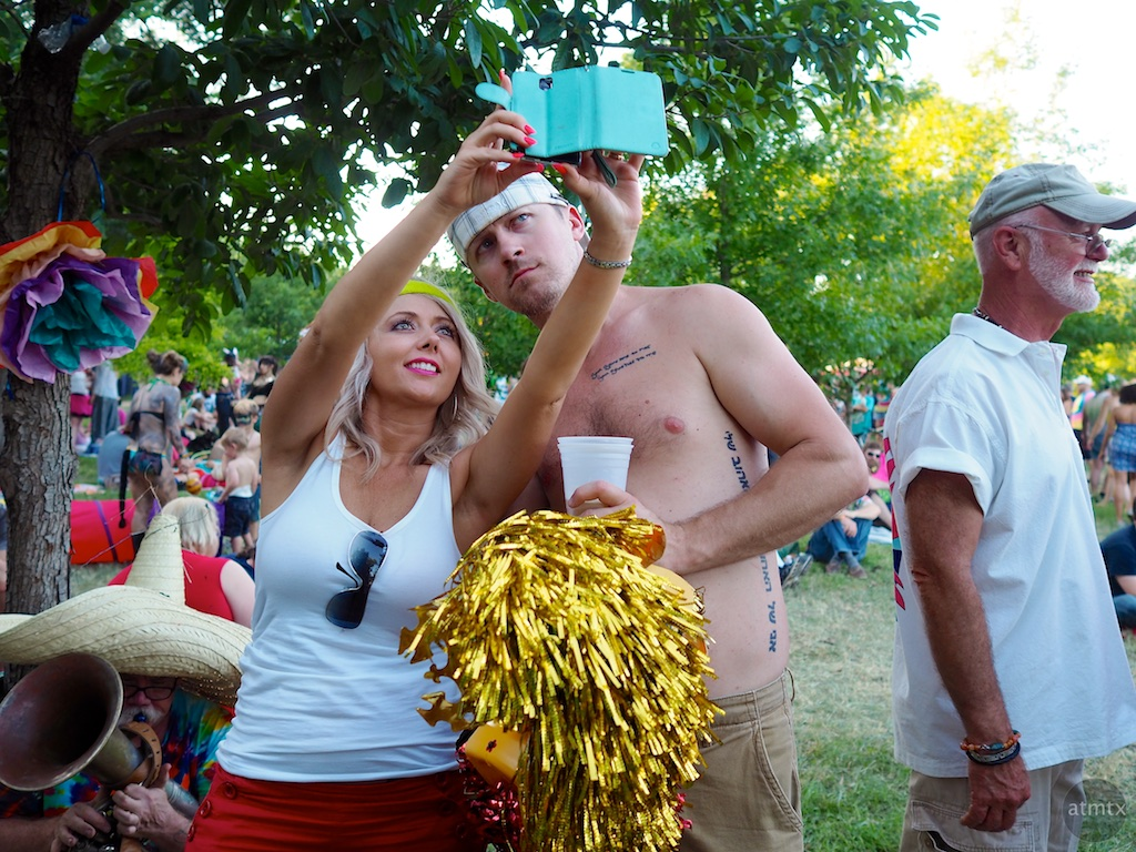 Selfie, Eeyore's Birthday Party 2015 - Austin, Texas