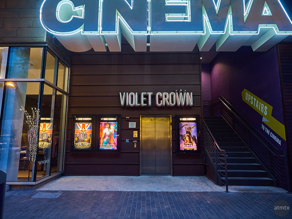 Violet Crown Cinema, 2nd Street - Austin, Texas
