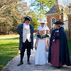 In Costume, Colonial Williamsburg, Williamsburg, Virginia