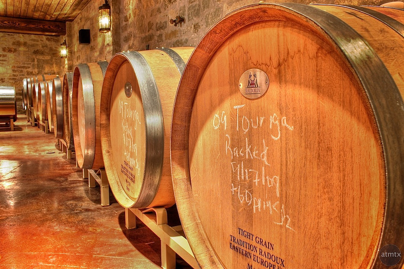 Spicewood Vineyards, Wine Cellar - Spicewood, Texas