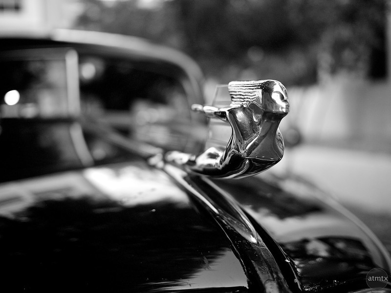 Hood Ornament, 1937 Cadillac Fleetwood - Austin, Texas