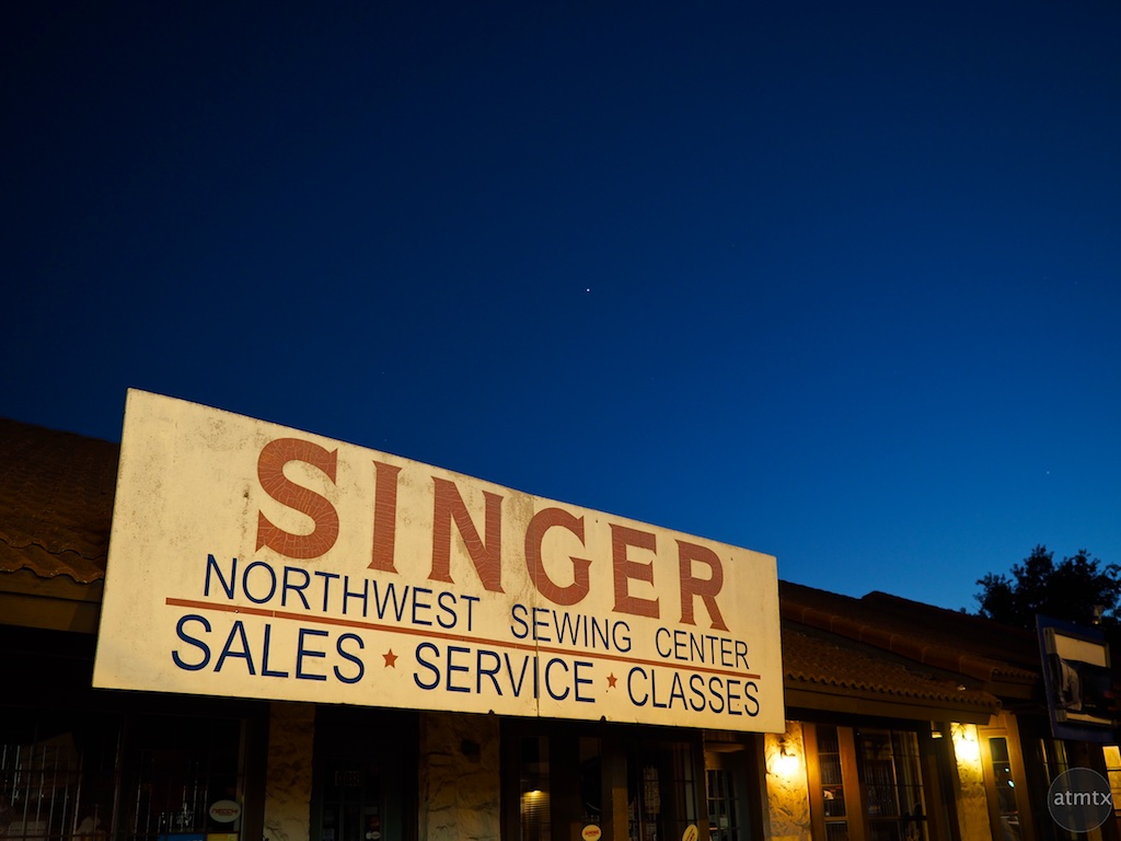 DSinger at Blue Hour, Burnet Road - Austin, Texas