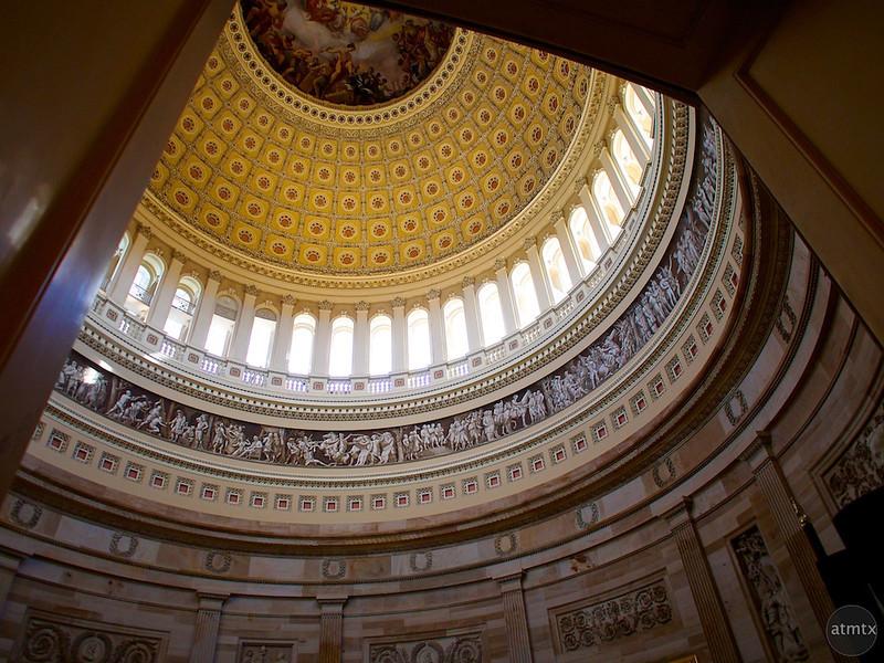 Framed Dome, United States Capitol - Washington DC