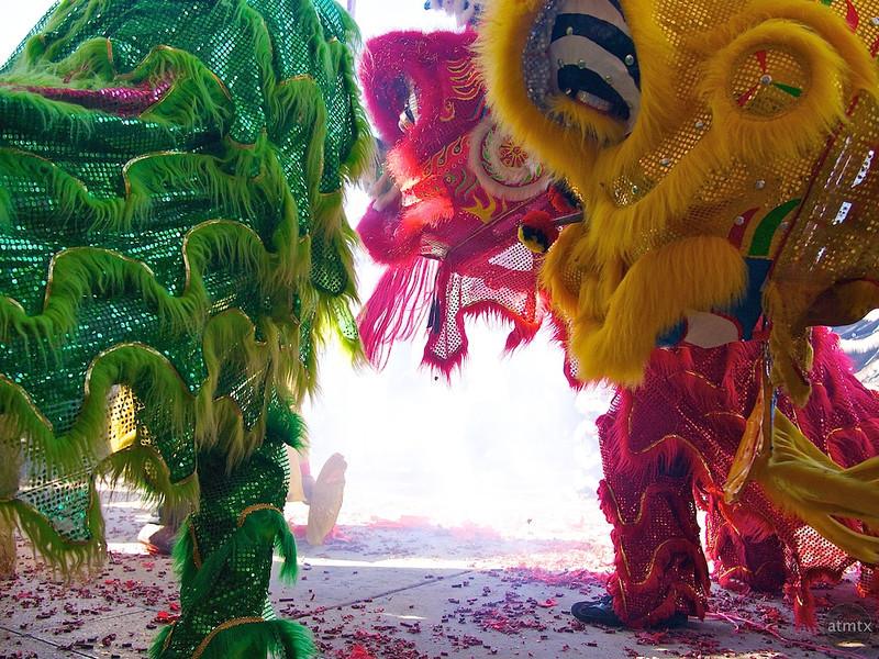 Three Lions, 2012 Chinese New Year Celebration - Austin, Texas