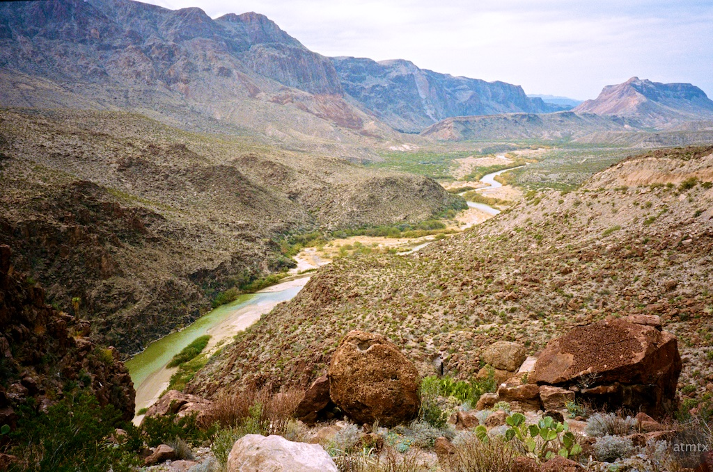 The Rio Grande - Big Bend Ranch State Park, Texas
