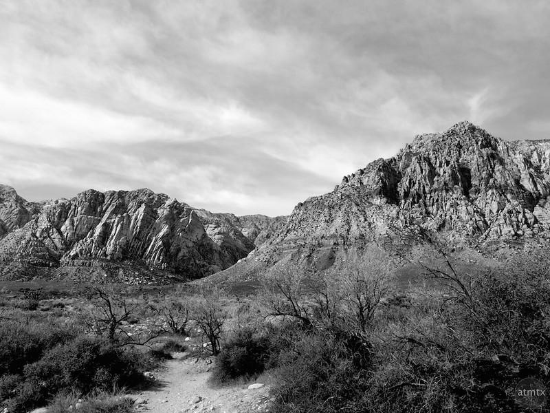 Mountains near Red Rock Canyon - Near Las Vegas, Nevada