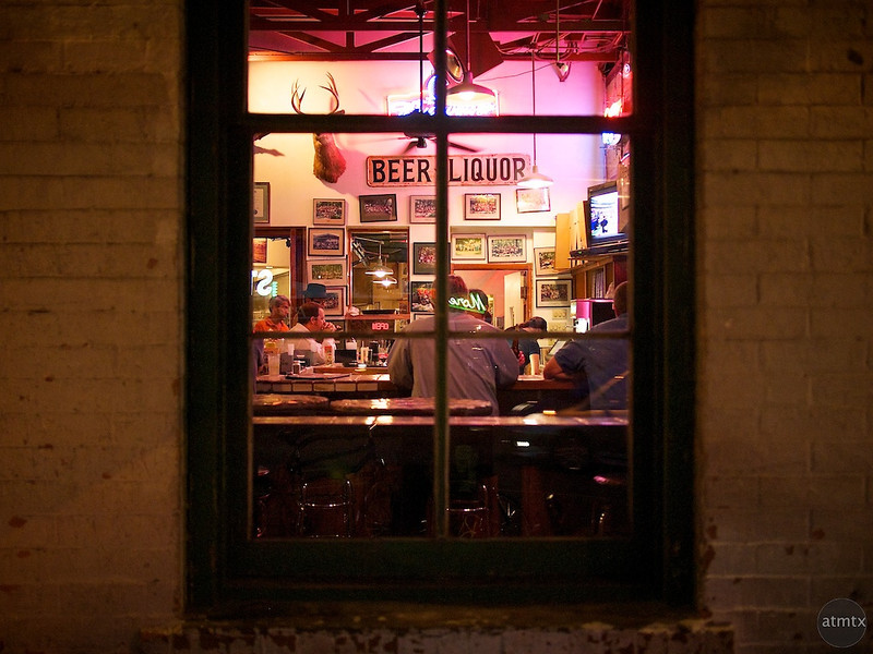 Guero's Taco Bar, Window View - Austin, Texas