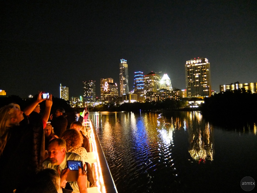 Downtown from the Boat - Austin, Texas