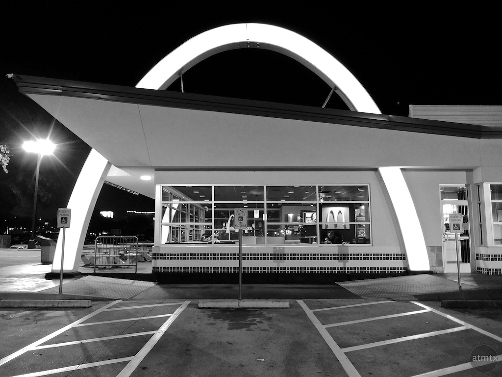 Single Arch, McDonald's - Austin, Texas
