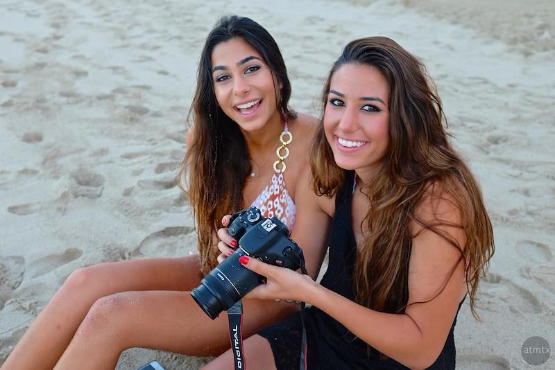 Rawan and Nadine, Waikiki Beach - Honolulu, Hawaii