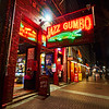 Jazz Gumbo Neon - New Orleans, Louisiana