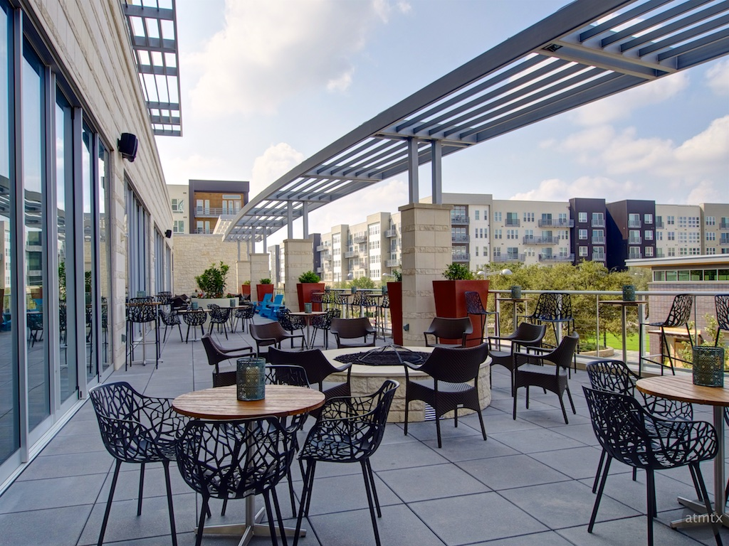 Outdoor Lounge, Archer Hotel - Austin, Texas