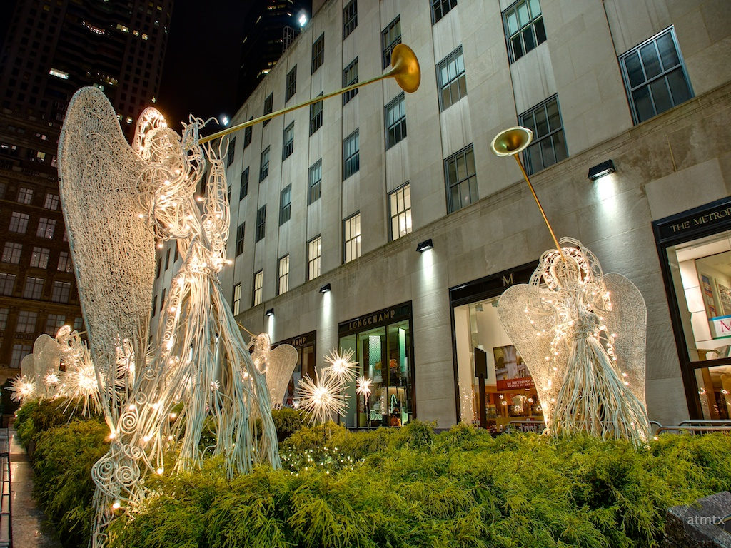 Angels, Rockefeller Center - New York, New York
