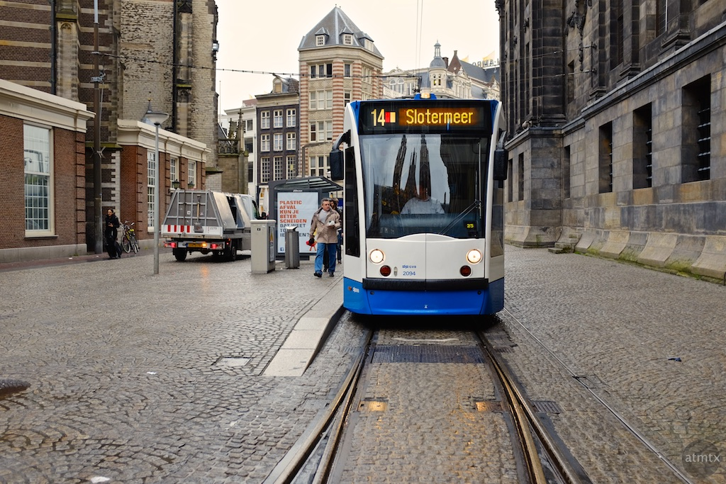 The Trams of Amsterdam #3 - Amsterdam, Netherlands