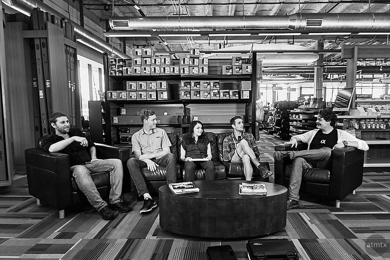Pongo at the Sony Takeover, Precision Camera - Austin, Texas