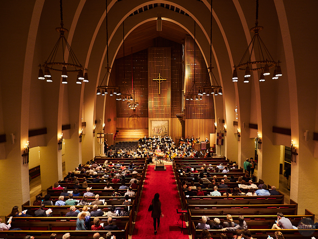 Parker Chapel Concert, Trinity University - San Antonio, Texas