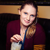 Sarah with a Milk Shake - Austin, Texas