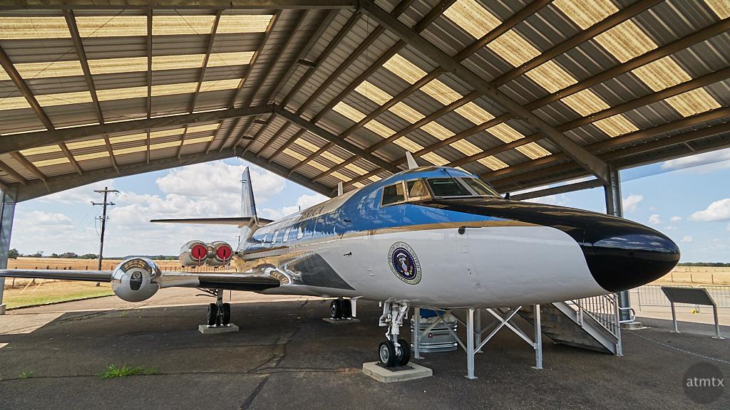 Presidential Plane, LBJ Ranch State Park - Stonewall, Texas