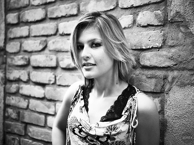 Salina, Drink and Click Portrait - Austin, Texas