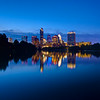 Skyline from the Boardwalk - Austin, Texas