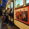 Boarding the bus, Market Street - San Francisco, California