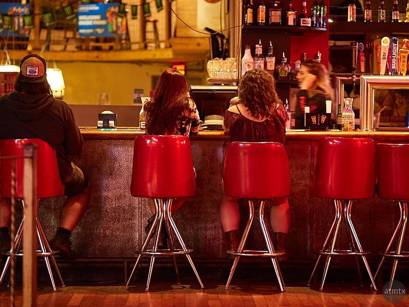 At the Bar, 6th Street - Austin, Texas